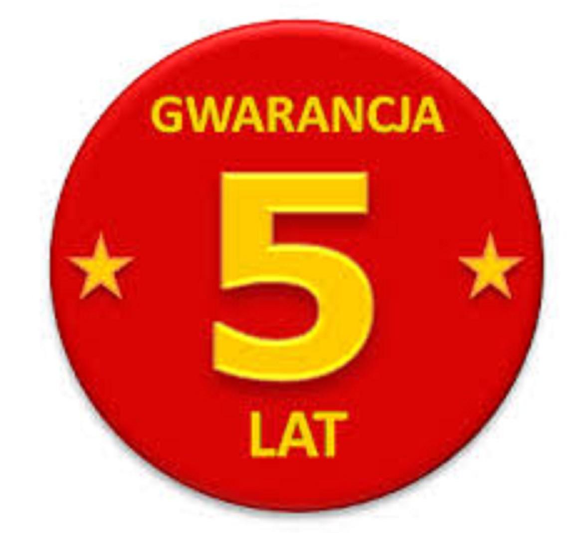 Na wszystkie nasze produkty udzielamy gwarancji do 60 miesięcy w zależności od produktu.